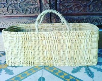 Basket on natural