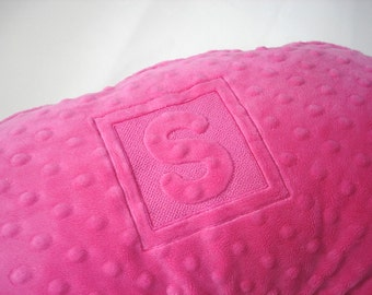 Boppy Pillow Cover Nursing Pillow Cover with Embroidery Letter Initial