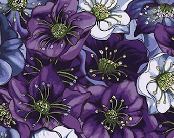 Lenten Rose -Dark Indigo Y2279-96