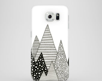 Lost in Mountains mobile phone case / Samsung Galaxy S7, Samsung Galaxy S6, Samsung Galaxy S6 Edge, Galaxy S5 / graphic iPhone case