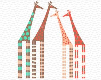 Giraffe Clipart, Giraffe Graphic, Vector Giraffe, Giraffe Image, Giraffe Clip Art, Digital Clipart. Commercial Use - MPG23