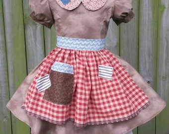 Little Orphan Annie costume for skaters