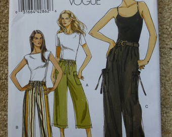 Vogue pattern V8584 Very easy Vogue Size 16-18-20-22-24