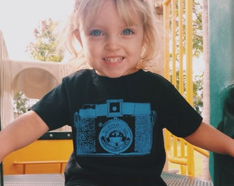 Diana Camera Creeper One Piece Romper Suit or Toddler T-Shirt