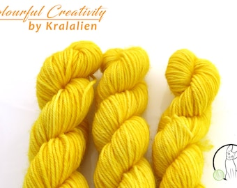Pre-order: Hello Yellow -  Colourful Smooth Sock Kitten