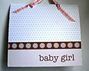 Baby Girl Mini PhotoAlbum/Scrapbook - Limited Edition