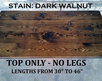 Table top, desk top, coffee table top, reclaimed wood, top only no legs, made to order, table top only