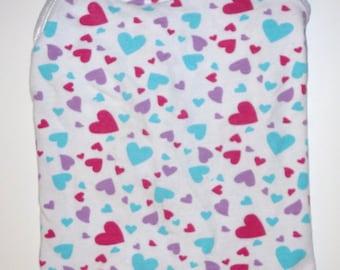 Size Small/medium Pet Dress, full of Hearts