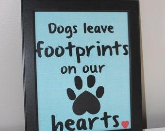 In Memory of Digital Print: Dogs