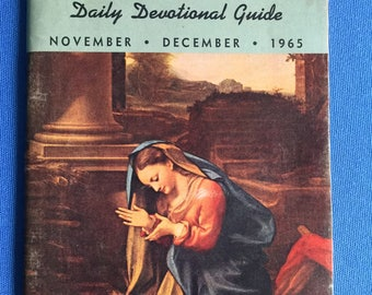 The Upper Room Daily Devotional Guide Nov. Dec. 1965