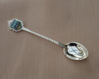 Vintage Silver Collector Spoon Kurhaus Baden/Baden Germany