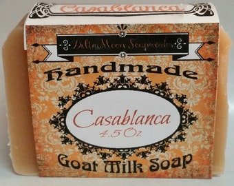 Lavender soap, Tea Tree and Orange Goat Milk Soap, gift for her, acne soap, birthday gift, soaps, ready to ship, Shaving Soap, cold process