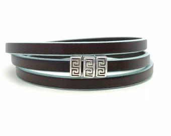 Leather Bracelet Women - Wrap Bracelet - Womens Jewelry - Multi Layer Bracelet - Boho Jewelry - Boho Bracelet, Woman Gift - Layered Bracelet