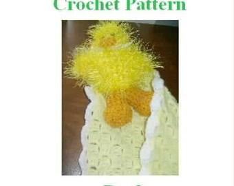 Crochet Pattern - Duck Blanket Buddy