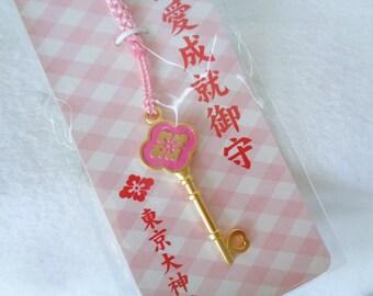 RJ93:Omamori talisman strap,Japanese  Netsuke strap ,ShintoShrine lucky charm,made in Japan