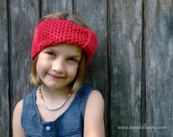 Instant Download - CROCHET PATTERN Easy Turban Headband
