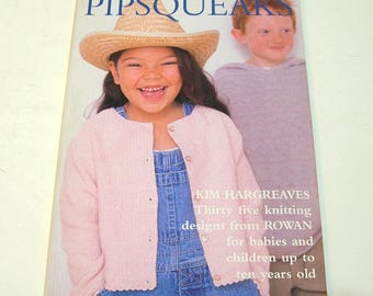 Pipsqueaks by Kim Hargreaves, Knitting Patterns Book