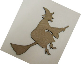 Witch Wood Cut Out - Laser Cut - Halloween