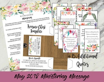 May 2018 Ministering Message: Ministering/General Conference Quotes