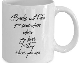 Coffee mug - Books