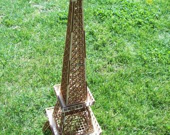 Laser-Schnitt 3D Eiffel Tower ideal für Hochzeit-Tisch-Center Stück