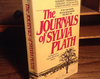 The Journals of Sylvia Plath - Vintage Paperback with Photographs - Edited by Ted Hughes and Frances McCullough, Journals of a Poet