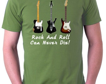 T-Shirt Rock And Roll, Fender