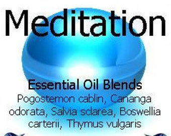 Aromatherapy Essential Oil Blends - A Range of 16 different Versions
