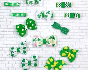 St Patrick's Day hair clips or baby clips - you pick!