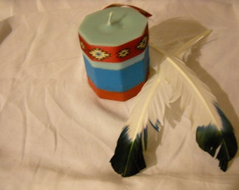 Native American Candle-Candles-Ritual candles-Gift ideas-Home Decor-