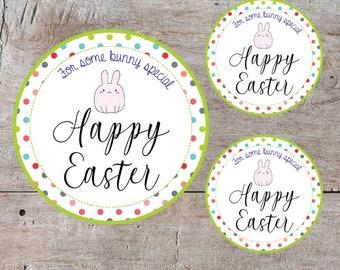 Printable Easter Tags, Easter Basket Tags, Printable Easter Bunny Tags, Bunny Tag, Printable Party Favor, Printable Easter Basket Tag