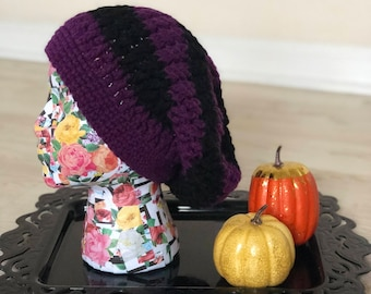 READY TO SHIP // Slouchy Crochet Beanie