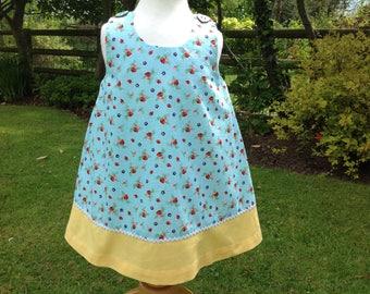 Pretty strawberry dress,