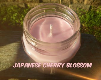 Japanese Cherry Blossom Candles