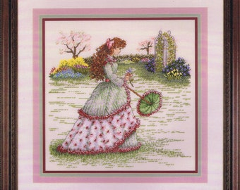 Spring Maiden Cross Stitch Chart And Pattern By Cross My Heart Inc