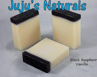Black Raspberry Vanilla - Handmade Soap