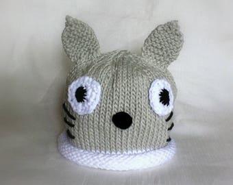 Knit My Neighbor Totoro Hat