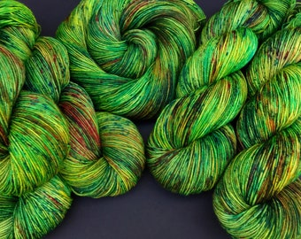 Grena - Sock weight, Hand dyed yarn, Superwash Merino, 463 yardsG
