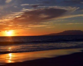 Kama'ole Charley Young Beach Sunset Maui Hawaii
