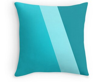 Teal Pillow, Teal Decorative Pillow, Teal Toss Pillow, Teal Throw Pillow, Teal Pillow Case, Teal Bedding, Teal Bedroom, Teal Decor, Teal