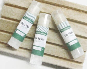 New Dill Pickle    Moisturizing Lip Balm with Shea Butter,
