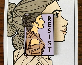 Resist - She Series Pin