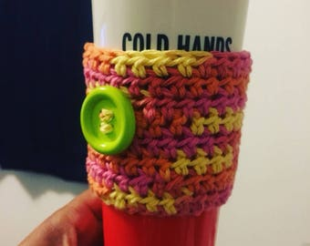 Colorful Cup Cozi for Hot Beverages