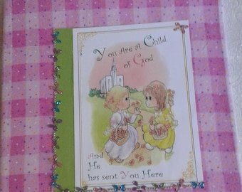 You are a child of God decorated coloring book