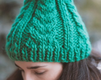 Greanie Beanie, yarn hat, wool hat, gorro lana