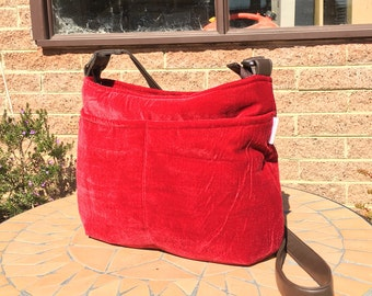 The Alex Bag, Cross Body/Hobo bag PDF Sewing Pattern
