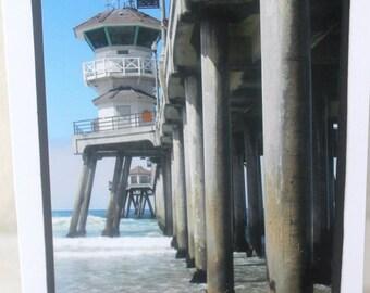 Photo Card, beach, Huntington Beach photography