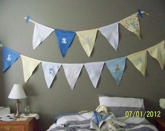 happy birthday pennants