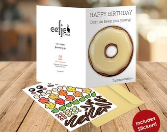 Eefje Cards - Vanilla Donut Birthday