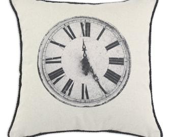 D'Kei Vintage Clock Pillow